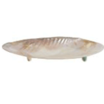 mother of pearl dish with legs