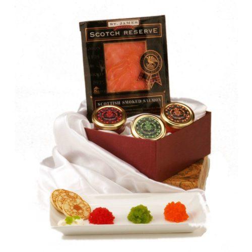 Sushi Caviar Gift Basket
