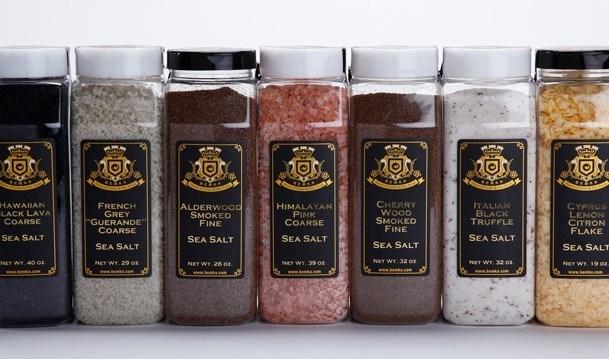 Gourmet Specialty Salts