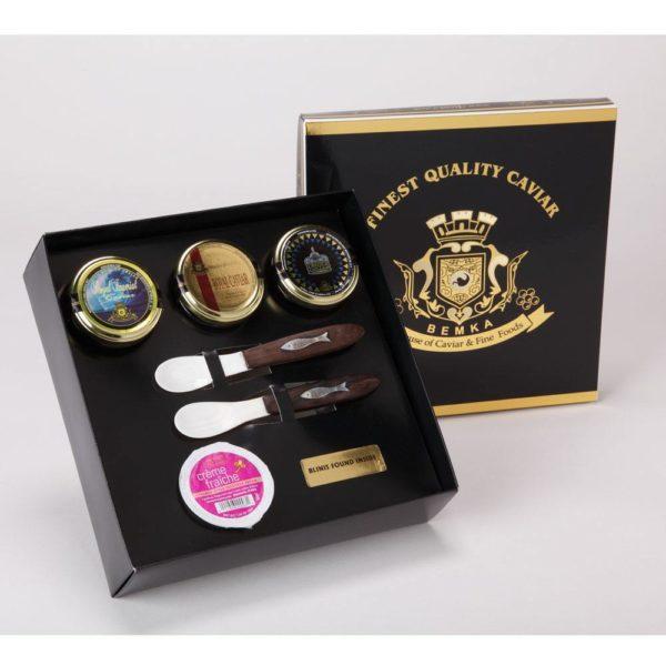 royal caviar triad gift