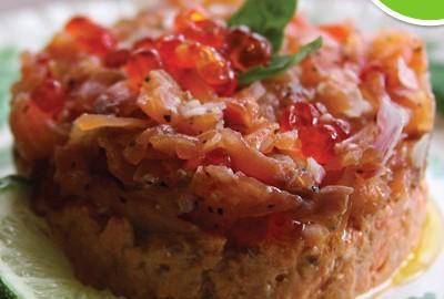 smoked-salmon-caviar-pate