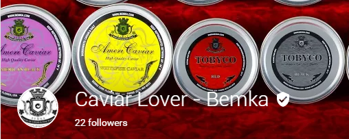 caviar lover google plus