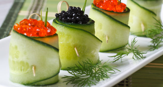 Best caviar recipes caviar appetizer recipes from caviar for What fish does caviar come from
