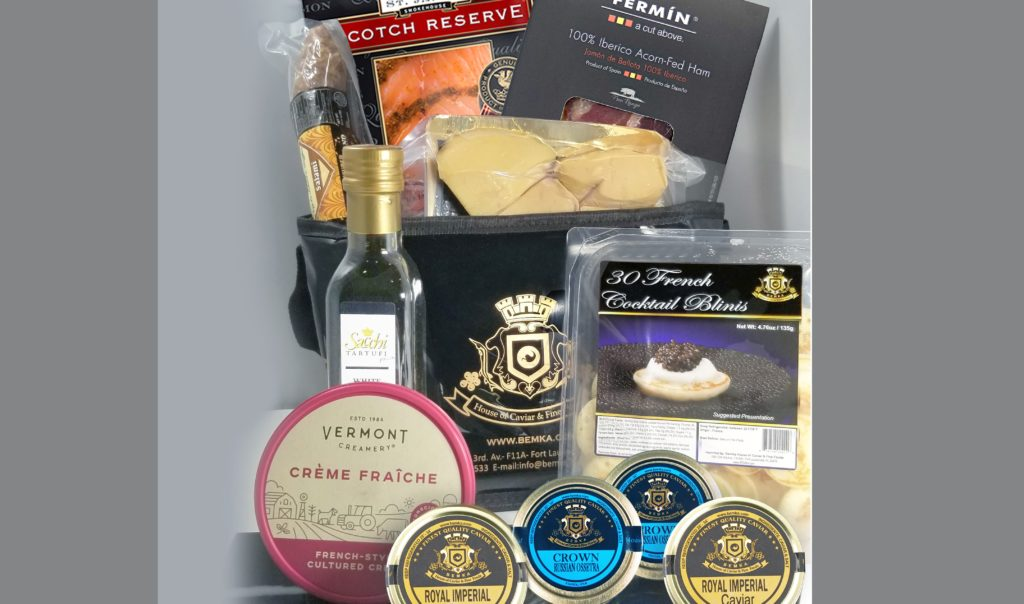 Luxurious and different gifts for a special date DELUxe brunch - Caviar Lover