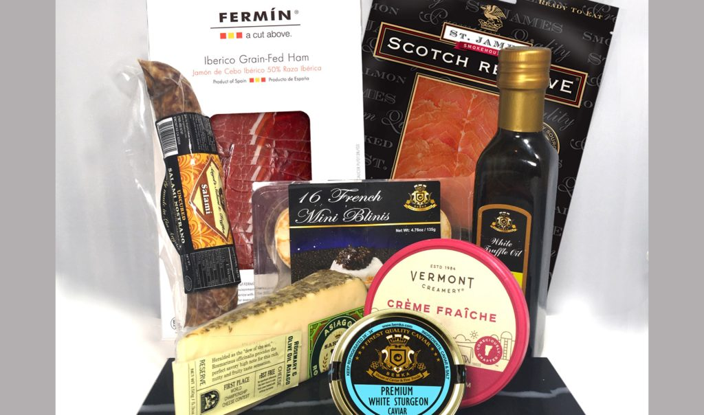 Luxurious and different gifts for a special date classic brunch - Caviar Lover