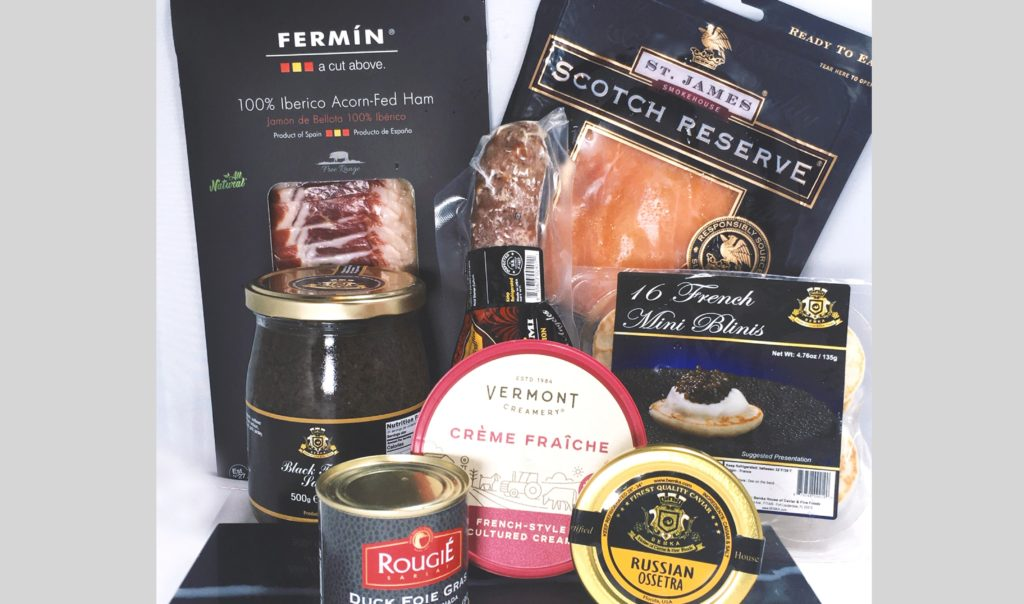 Luxurious and different gifts for a special date premium brunch - Caviar Lover