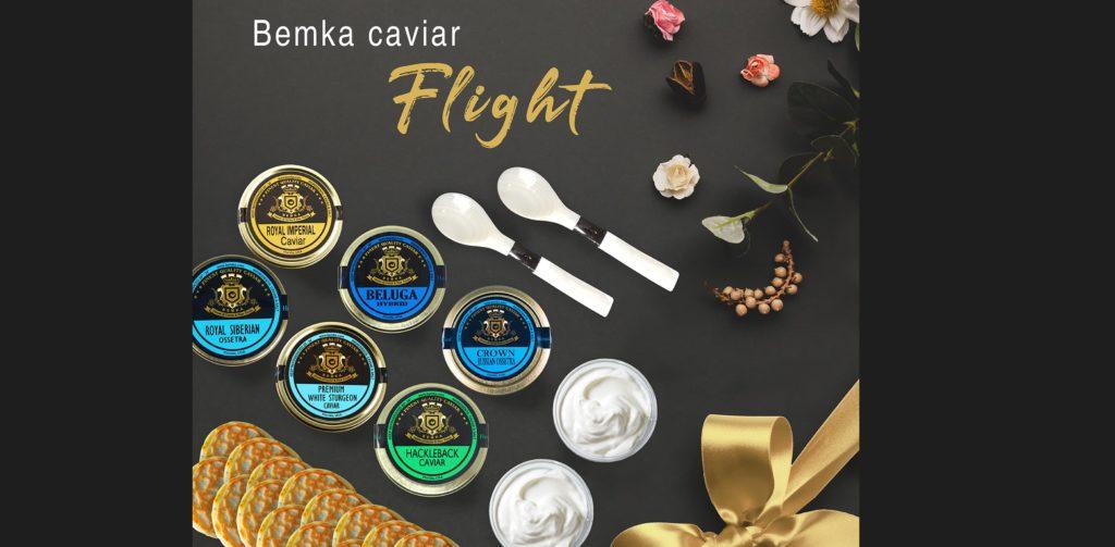 5 Christmas luxury gifts to surprise 4 CAVIAR FLIGHT - Caviar Lover