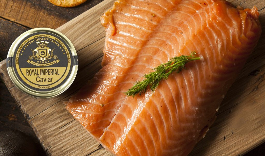 A How To Guide to serving Smoked Salmon 3 - Caviar Lover
