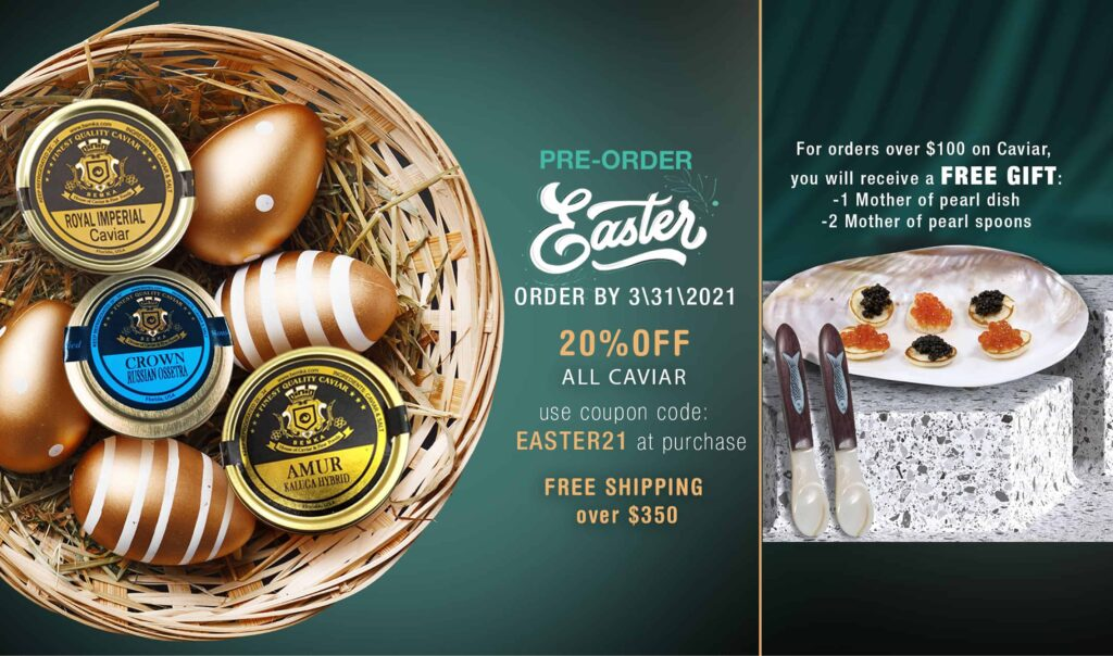 Best Easter Recipes 2021 to Caviar Lovers 4 - Caviar Lover