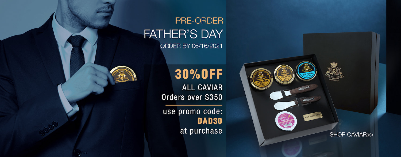 DAD30 30OFF ALL CAVIAR caviarlover - Caviar Lover