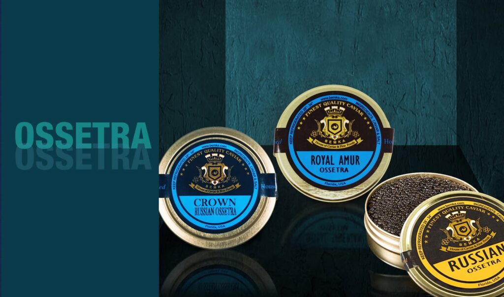 The most common types of Caviar 3 - Caviar Lover