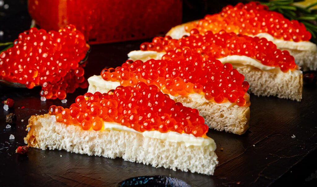 How to eat healthy with Salmon Roe 1 - Caviar Lover