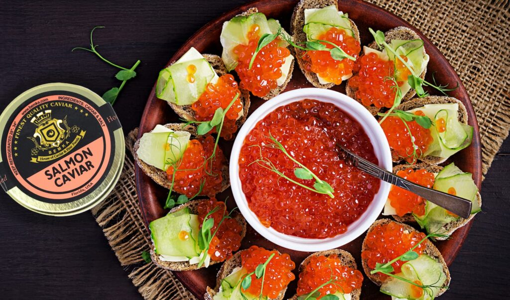 How to eat healthy with Salmon Roe 3 - Caviar Lover