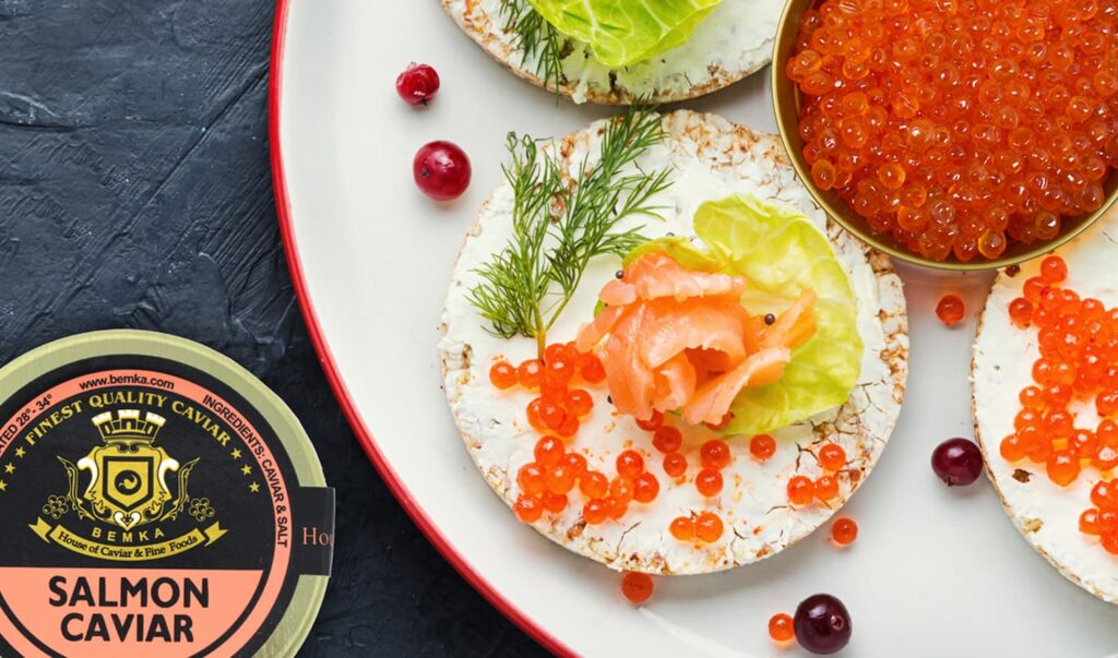 How to eat healthy with Salmon Roe 4 - Caviar Lover