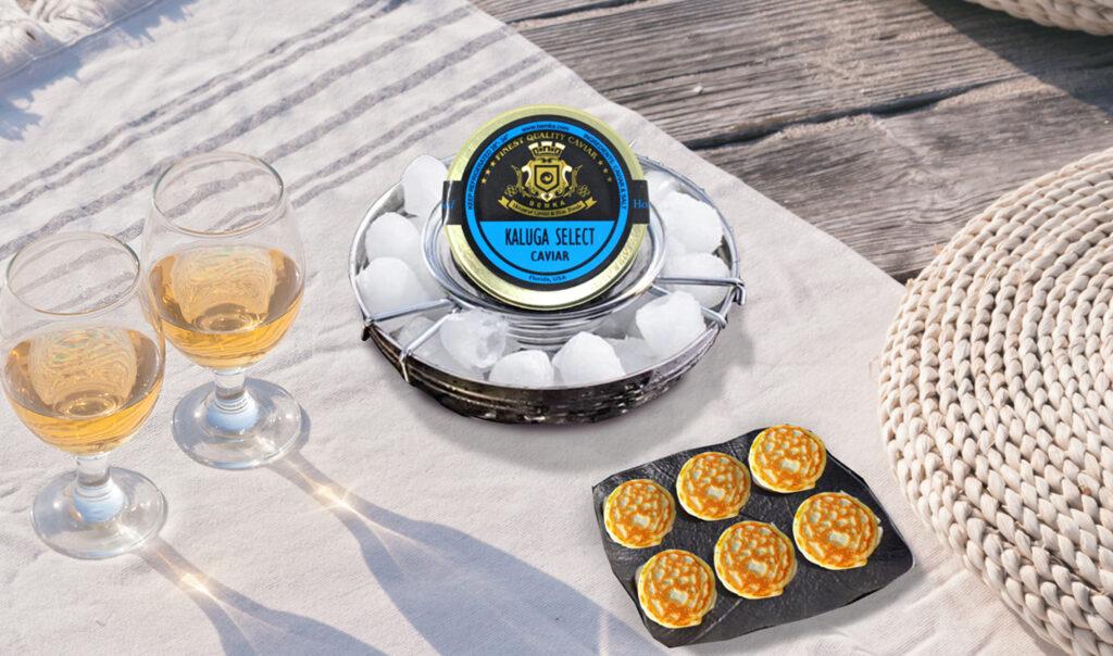 How to accompany and serve Caviar 3 - Caviar Lover
